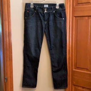 HUDSON skinny, cropped jeans